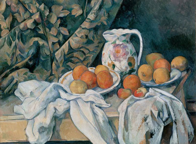 still-life-with-curtain-and-flowered-pitcher